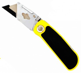 Cutter Lipat Anti Slip Disposable - Yellow