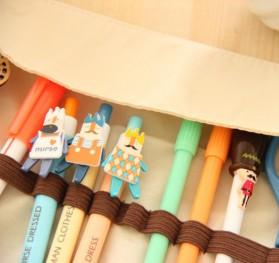 Kotak Pensil Motif Lucu Model Gulung - BIDAI - Multi-Color - 5