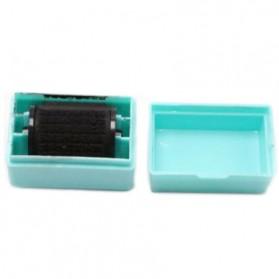Stempel Roll Motif Huruf Mandarin - Blue - 1