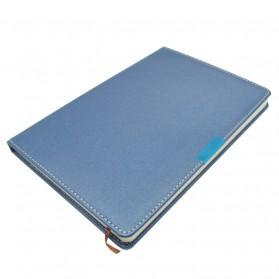 Buku Catatan Bisnis Cover Kulit Kertas A5 - Blue