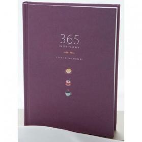 Buku Diary Hardcover - Purple