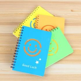 Buku Catatan A5 Cute Pattern - Blue