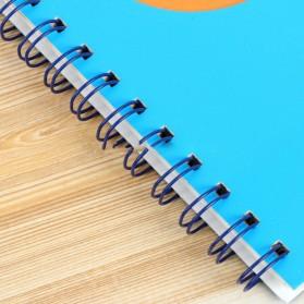 Buku Catatan A5 Cute Pattern - Blue - 3