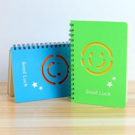 Buku Catatan A5 Cute Pattern - Blue - 4