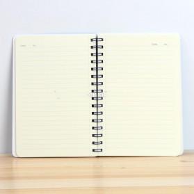 Buku Catatan A5 Cute Pattern - Blue - 6
