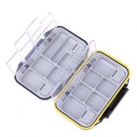 Lixada Box Kotak Perkakas Kail Pancing 12 Ruang - MCC01 - Black - 2