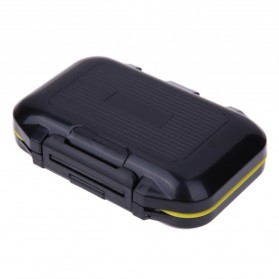 Lixada Box Kotak Perkakas Kail Pancing 12 Ruang - MCC01 - Black - 4