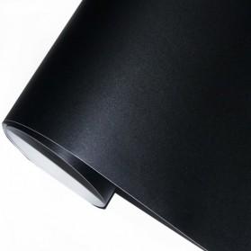 H&F Stiker Dinding Papan Tulis Kapur Flexible 200 x 45 cm - 513 - Black - 4