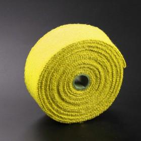 Exhaust Wrap Lakban Peredam Panas Knalpot - MP-001 - Yellow