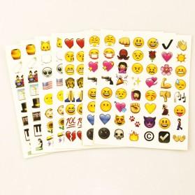 Stiker Emoji Cute 4PCS