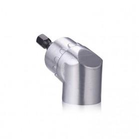 Extension Mata Bor L Angle 1/4inch Hex Bit Socket - 105 - Silver - 4