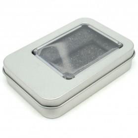 Kotak Penyimpanan Mini Serbaguna - Silver