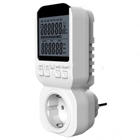 OkayLight Multifunction Digital Timer Switch - MTS300 - White