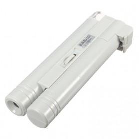 Mikroskop Genggam Multifungsi 100x Pembesaran - WYSX-100X - Silver - 2