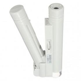 Mikroskop Genggam Multifungsi 100x Pembesaran - WYSX-100X - Silver - 4