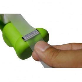 Dispenser Cutter Lakban dan Tempat Alat Tulis Model Green Butt Man - Green - 4