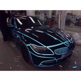 Car Styling Reflective Stiker Mobil 1cm 5 Meter - Blue - 5