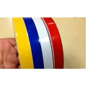Car Styling Reflective Stiker Mobil 1cm 5 Meter - Blue - 6