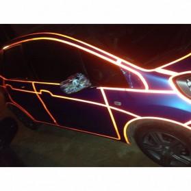 Car Styling Reflective Stiker Mobil 1cm 5 Meter - Blue - 10