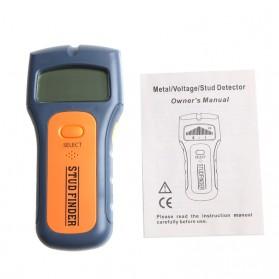 Floureon Stud Finder Detektor Logam Dinding Rumah - D260140 - Blue - 5