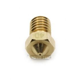 Brass Nozzle Extruder for J-Head 3D Printer V6 V5 1.75mm 0.4mm - Golden - 2