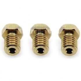 Brass Nozzle Extruder for J-Head 3D Printer V6 V5 1.75mm 0.4mm - Golden - 4