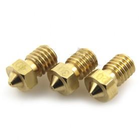 Brass Nozzle Extruder for J-Head 3D Printer V6 V5 1.75mm 0.4mm - Golden - 5