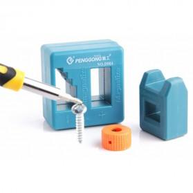 Magnetizer Demagnetizer Kepala Obeng - Green - 2