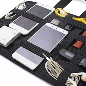 Storage Board Strap Elastis Multifungsi - Size S - Black - 2
