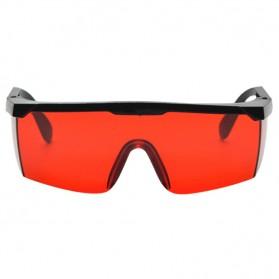 Kacamata Telescopic Protective Anti Red Laser - Red