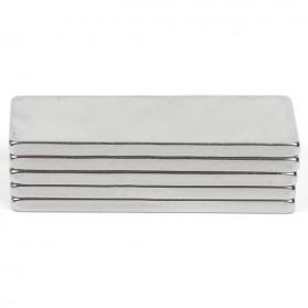 Powerful Cuboid Neodymium Magnet N35 30 x 10mm 10 PCS - MG10 - Silver - 2