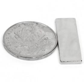 Powerful Cuboid Neodymium Magnet N35 30 x 10mm 10 PCS - MG10 - Silver - 3