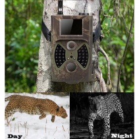 Kamera Hunting Trial Traps Camera Motion Trigger 12MP 1080P Night Vision - HC300M - Camouflage - 6
