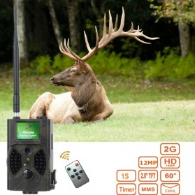 Kamera Hunting Trial Traps Camera Motion Trigger 12MP 1080P Night Vision - HC300M - Camouflage - 7