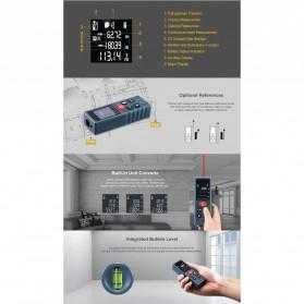 SNDWAY Pengukur Jarak Laser Distance Meter 80M - KXL-D80 - Black - 6