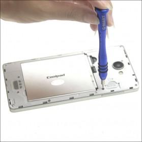 Obeng 17 in 1 Screwdriver Pry Opener Set for Smartphone - Blue - 3