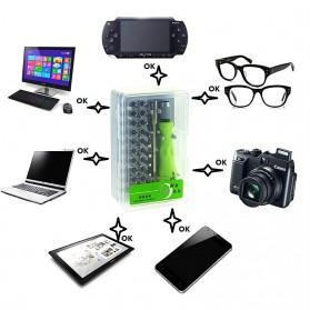 Obeng 17 in 1 Screwdriver Pry Opener Set for Smartphone - Blue - 4