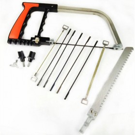 Gergaji Tangan Multifungsi Set Pemotong Kayu Besi Handsaw - 2