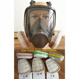 3M Masker Gas Acid Full Face - 6800 no.7 - 2