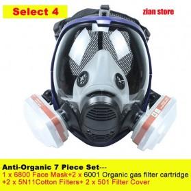 Masker Gas Organik Full Face 6001CN Filter - 6800 - 2