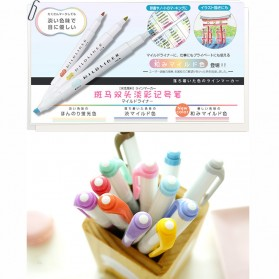 Japanese Pena Stabilo Marker Liner Doube Tips 5 PCS - Multi-Color - 2