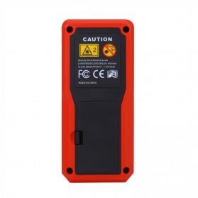 Pengukur Jarak Laser Distance Meter 40M - SW-T40 - Black/Red - 4