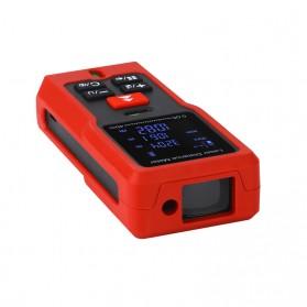 Pengukur Jarak Laser Distance Meter 40M - SW-T40 - Black/Red - 7