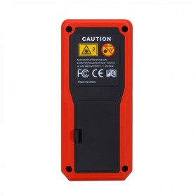Pengukur Jarak Laser Distance Meter 60M - SW-T60 - Black/Red - 4