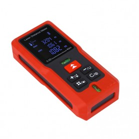 Pengukur Jarak Laser Distance Meter 60M - SW-T60 - Black/Red - 6