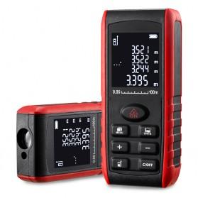 Pengukur Jarak Laser Distance Meter 80M - KXL-E80 - Black/Red