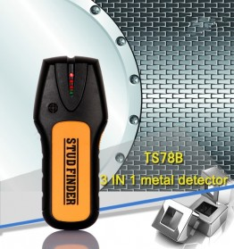 Stud Finder Detektor Logam Wire Wall Scanner - TS78B - Black/Yellow