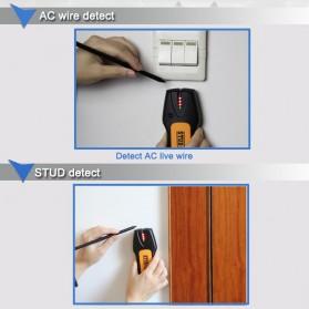 Stud Finder Detektor Logam Wire Wall Scanner - TS78B - Black/Yellow - 6