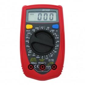Pocket Size Digital Multimeter AC/DC Voltage Tester - DT33D - Blue