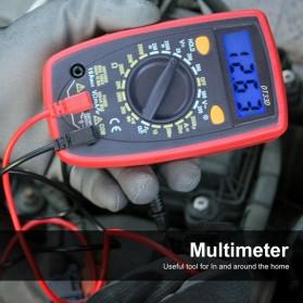 Pocket Size Digital Multimeter AC/DC Voltage Tester - DT33D - Blue - 6